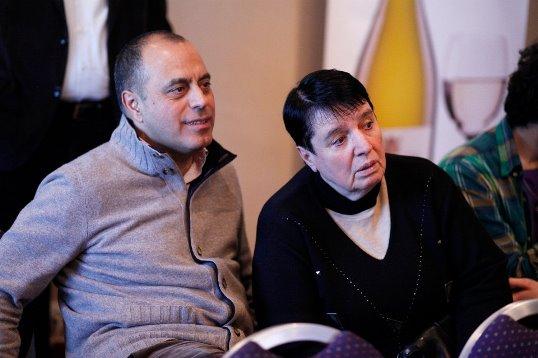 Mahir Mamedov and Nona Gaprindashvili