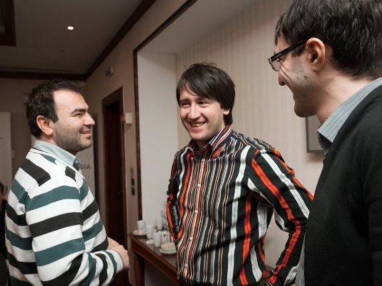 Mamedyarov, Radjabov, Sanikidze