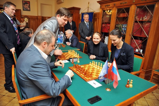 Moscow Open 2015 starting