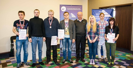 Aleksandr Rakhmanov wins Northwestern Federal District Chess Championship