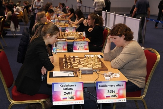 Alisa Galliamova vs. Tatiana Kosintseva