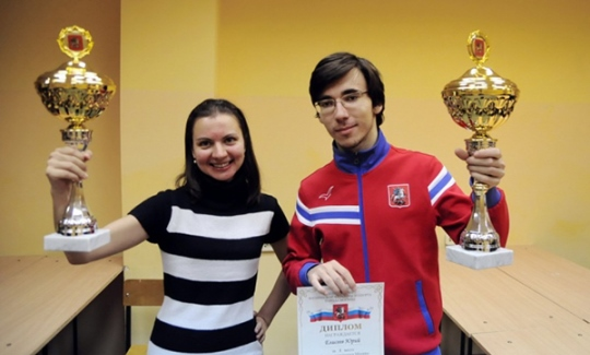 Daria Charochkina and Urii Eliseev