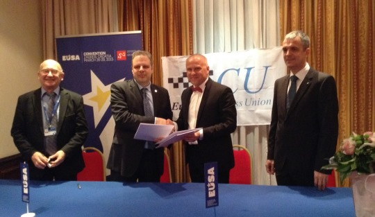 Chess an official sport with the European Universities Sports Association