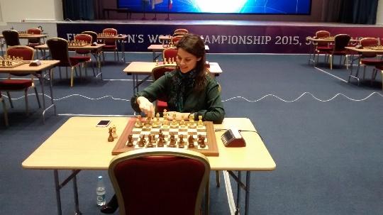 FIDE Press Officer Anastasya Karlovich