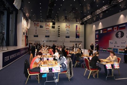 FIDE Women's World Championship - Round 2.1