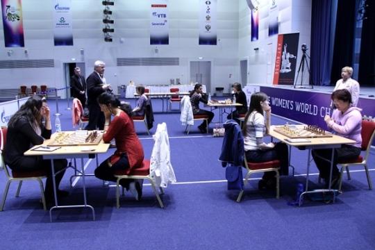 FIDE Women's World Championship - Round 4.1