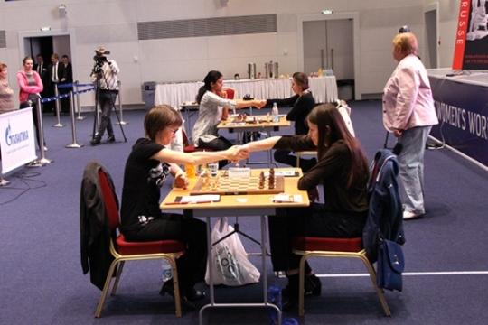 FIDE Women's World Championship - Round 5.1