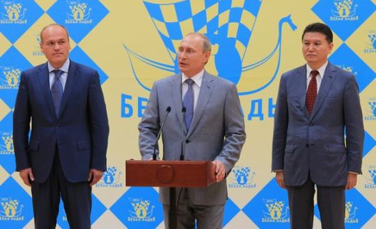Filatov, Putin and Ilyumzhinov