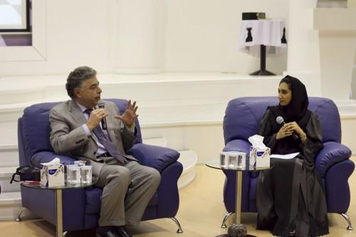Yasser Seirawan interviewed by the former UAE Olympic player Juma Jamila