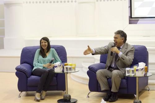 IM Iva Videnova talks to the guest