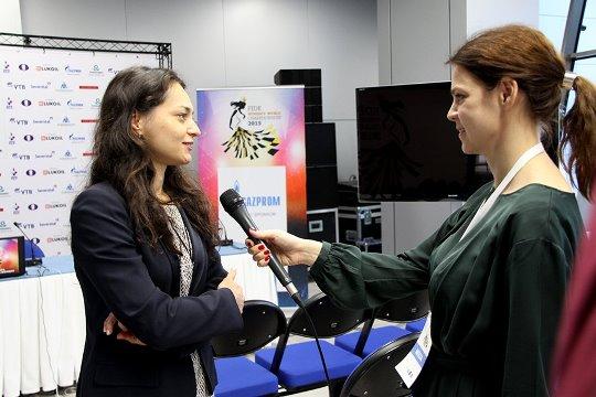 Alexandra Kosteniuk interview