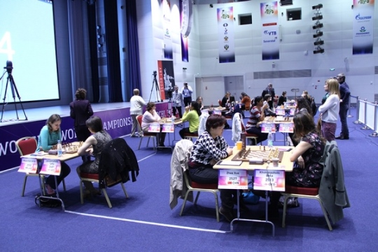FIDE Women's World Championship - Round 3.2