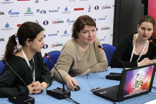 Alisa Galliamova press conference