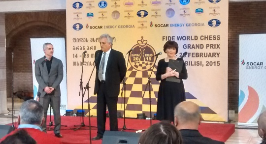 Israel Gelfer Tbilisi FIDE Grand Prix