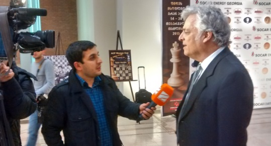 Israel Gelfer interview Georgia TV
