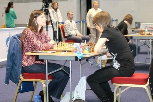 Natalija Pogonina and Pia Cramling
