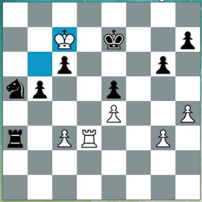 In this position black played ...Rxc3??