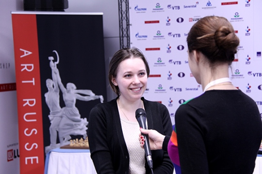 Mariya Muzychuk interviewed by FIDE Press Officer