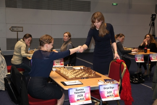 Valentina Gunina and Olga Girya