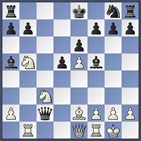 Vachier Lagrave - Caruana game in Sinquefield Cup