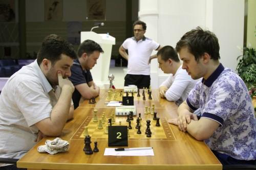 GM Gadir Guseinov vs. GM Vladimir Fedoseev