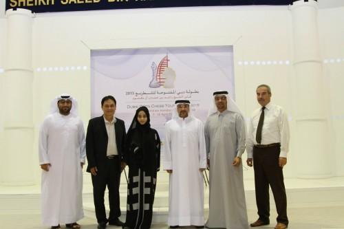 A group photo of 17th Dubai Open Arbiters