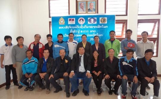 FIDE Arbiters' Seminar in Luang Prabang, Laos