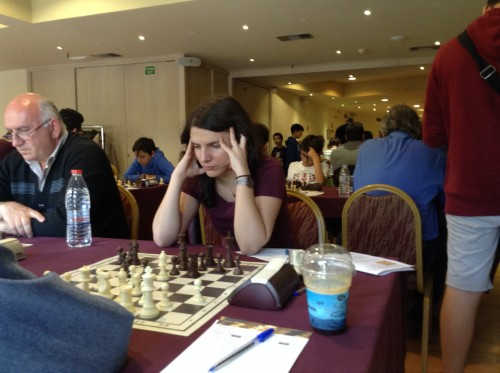 French WGM Pauline Guichard (2378)