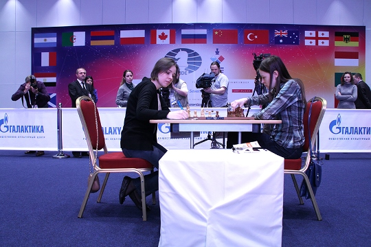 FIDE Women's World Championship - Final Game 2