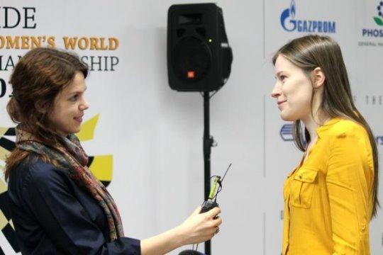 FIDE Women's World Championship - Final Game 1
