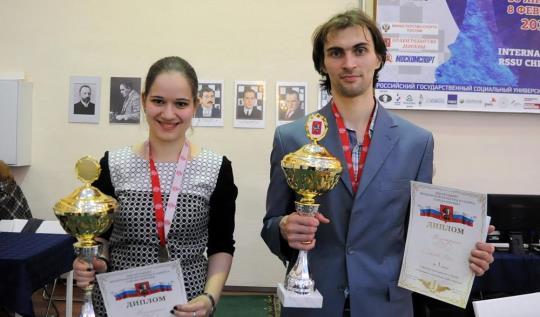 Kashlinskaya, Savchenko win Moscow Rapid Championships