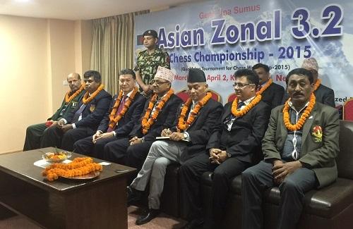 Kirsan Ilyumzhinov Nepal closing ceremony