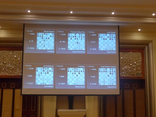 Live Games Display