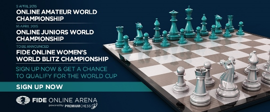 Official FIDE tournaments in FIDE Online Arena