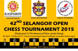 Selangor Open backdrop