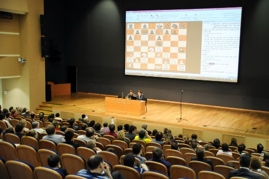 Sergey Karjakin chess school