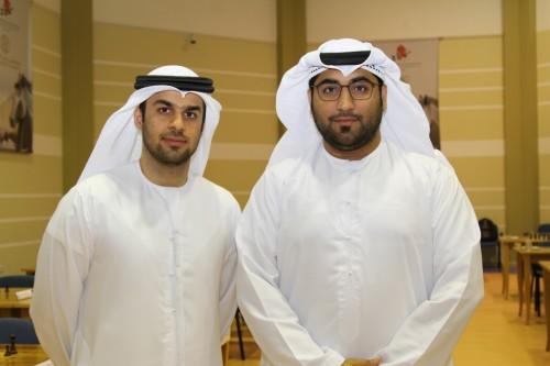 Tournament Director Yahya & International Arbiter Saeed