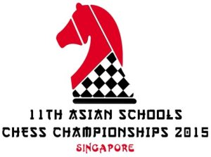 11th Asian Schools Chess Championship 2015