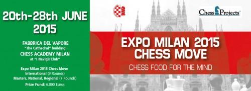 EXPO Milan 2015 - Chess Move