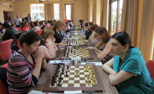 European Women's Chess Championship R7