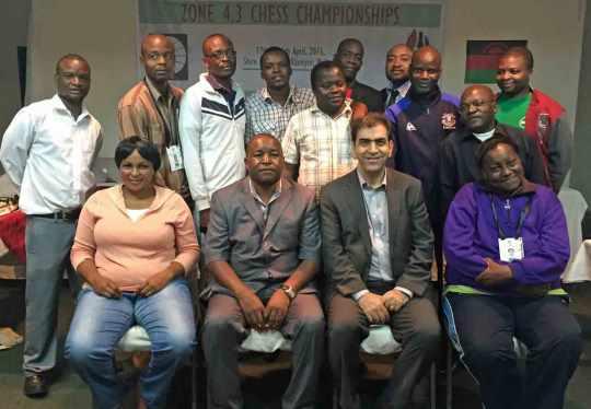 FIDE Arbiters' Seminar in Blantyre, Malawi