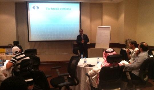 FIDE Arbiters' Seminar in Al Khobar (Eastern Region), Saudi Arabia