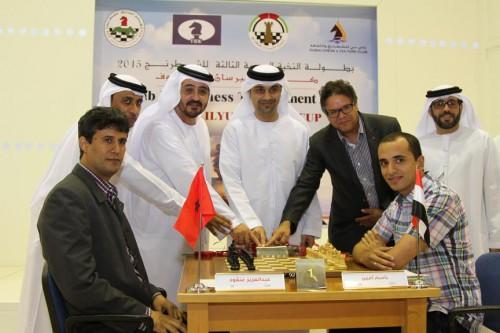 Ibrahim AL Bannai announces the start of Round 1