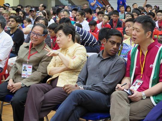 VIPs - Ignatius Leong, Chan Lai Fung, Dr Shashi Jeyakumar and Jackson Li