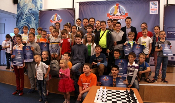 Children's Day held at Russian Higher League