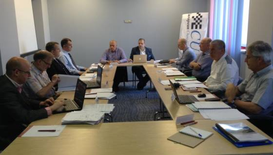 ECU Board Meeting in Bucharest