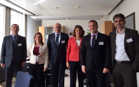 ECU President Zurab Azmaiparashvili and chess legend GM Judit Polgar visited Brussels on 2-3rd June for important meetings with the European Commission