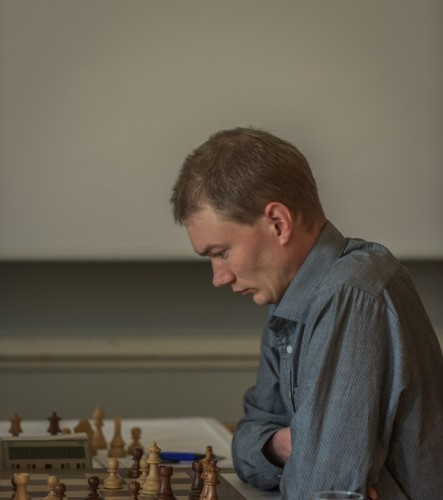Highest rated Swedish player in the tournament, GM Emanuel Berg