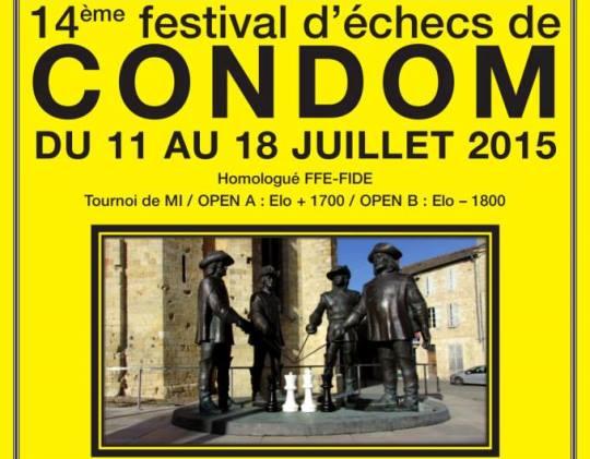 International Chess Festival Condom 2015