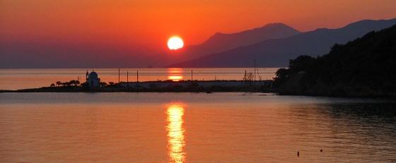 Sunset at Armenistis